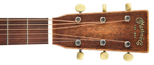 Martin DSS-15 Streetmaster in Natural 2262730 Headstock Front