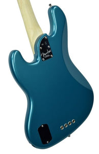Fender® American Elite Jazz Bass in Ocean Turquoise - Back Left