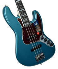 Fender® American Elite Jazz Bass in Ocean Turquoise - Front Left