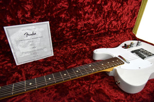 Fender Jimmy Page Mirror Telecaster in White Blonde USA00154 - The Music Gallery