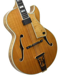 Used Heritage Sweet 16 Hollowbody Guitar w/OHSC P14302 Front Angle 1