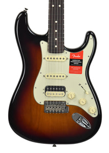 Fender American Professional HSS Shawbucker Stratocaster in 3 Tone Sunburst - The Music Gallery