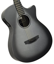 Rainsong CH-OM1000NS Carbon Fiber Acoustic Electric Silver Burst 19020 - The Music Gallery