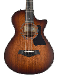 Taylor 362ce 12 String Acoustic Electric Satin African Blackwood 1103059025 - The Music Gallery