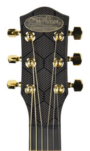 McPherson Touring Carbon Fiber Acoustic Guitar in Honeycomb Black 10009 - The Music Gallery