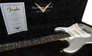 Used Fender Custom Shop Wildwood 10 Stratocaster Lush Closet Classic in Inca Silver 1558 - The Music Gallery