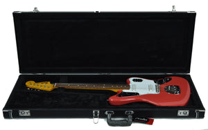 Fender® 60's Jaguar Lacquer in Fiesta Red - Case
