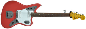 Fender® 60's Jaguar Lacquer in Fiesta Red - Front Full