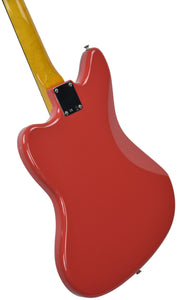 Fender® 60's Jaguar Lacquer in Fiesta Red - Back Left