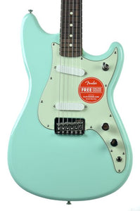 Fender® Duo-Sonic HS in Surf Green MX17927087 - The Music Gallery