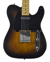 Fender® Road Worn 50's Telecaster in Two-Tone Sunburst - Front