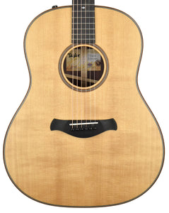Taylor 717e Builder's Edition Natural Top 1103129124