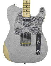 Fender® Brad Paisley Road Worn Telecaster in Silver Sparkle MX17953927