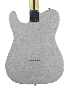Fender® Brad Paisley Road Worn Telecaster in Silver Sparkle MX17953927 - The Music Gallery