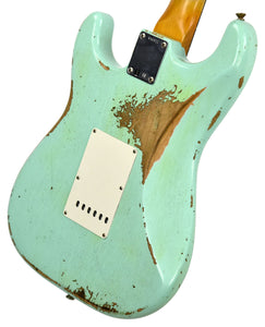 Fender Custom Shop 63 Stratocaster Relic | The Music Gallery | Back Angle 2