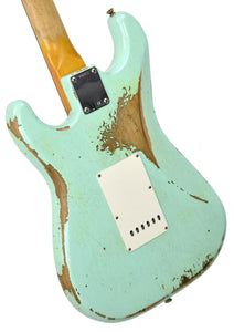 Fender Custom Shop 63 Stratocaster Relic | The Music Gallery | Back Angle 1