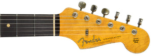 Fender Custom Shop 63 Stratocaster Relic | The Music Gallery | Headstock Front