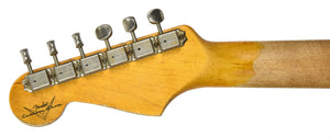 Fender Custom Shop 63 Stratocaster Relic | The Music Gallery | Headstock Back