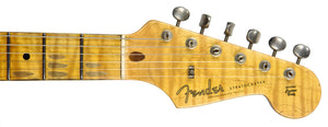 Fender Custom Shop 59 Special Stratocaster Relic Olympic White CZ540505 - The Music Gallery