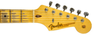 Fender Custom Shop Masterbuilt Active Strat Relic Todd Krause Cz538299 - The Music Gallery