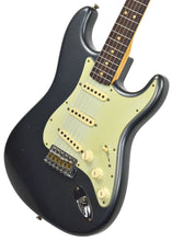 Fender Custom Shop 63 Stratocaster Journeyman Relic Charcoal Frost R98677