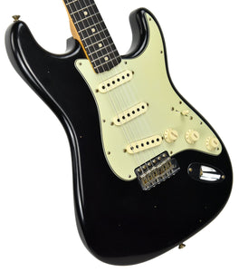 Fender Custom Shop 63 Stratocaster Journeyman Relic Black R97720