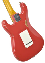 Fender Custom Shop 61 Stratocaster Relic Fiesta Red cz538552