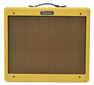 Used Fender Blues Jr Electric Guitar Amplifier in Lacquered Tweed B-767082
