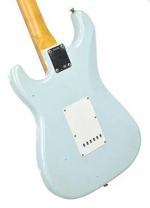 Fender Custom Shop 63 Stratocaster Journeyman Relic Sonic Blue R98660
