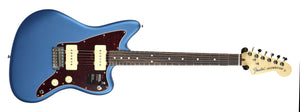 Fender American Performer Jazzmaster Satin Lake Placid Blue US19007165 | The Music Gallery | Front Far
