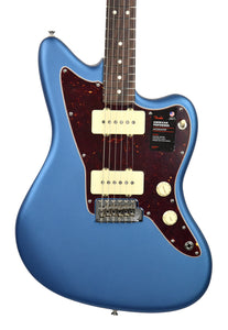 Fender American Performer Jazzmaster Satin Lake Placid Blue US19007165 | The Music Gallery | Front Close