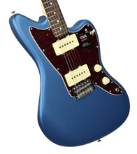 Fender American Performer Jazzmaster Satin Lake Placid Blue US19007165 | The Music Gallery | Front Angle 1