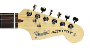 Fender American Performer Jazzmaster Satin Lake Placid Blue US19007165 | The Music Gallery | Headstock Front