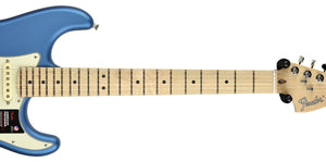 Fender American Performer Stratocaster Satin Lake Placid Blue US19039361 | The Music Gallery | Neck Front