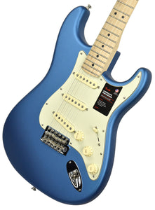 Fender American Performer Stratocaster Satin Lake Placid Blue US19039361 | The Music Gallery | Front Angle 2