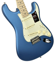 Fender American Performer Stratocaster Satin Lake Placid Blue US19039361 | The Music Gallery | Front Angle 1