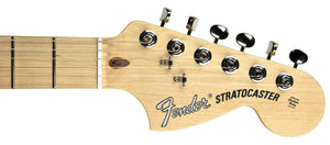 Fender American Performer Stratocaster Satin Lake Placid Blue US19039361 | The Music Gallery | Headstock Front