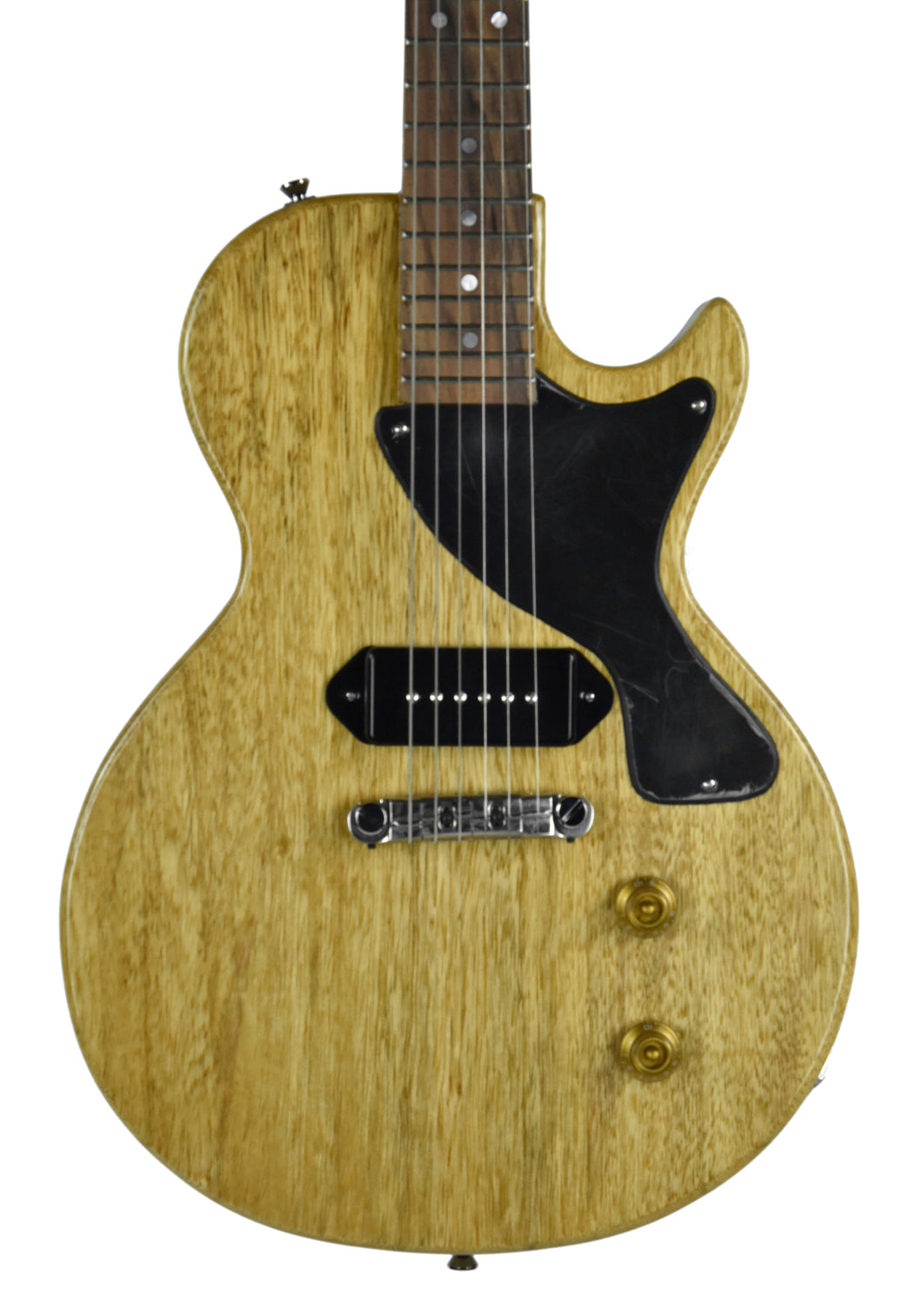 Kurt Wilson Les Paul Jr. in Natural Korina - Front