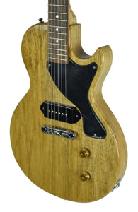 Kurt Wilson Les Paul Jr. in Natural Korina - Front Right
