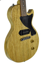 Kurt Wilson Les Paul Jr. in Natural Korina - Front Left