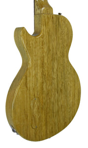 Kurt Wilson Les Paul Jr. in Natural Korina - Back Left