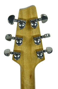 Kurt Wilson Les Paul Jr. in Natural Korina - Headstock Back
