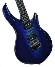 Music Man Majesty Monarch in Imperial Blue | Front Left