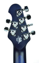 Music Man Majesty Monarch in Imperial Blue | Headstock Back