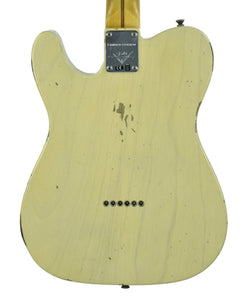 Fender® NAMM LTD Relic '52 HS Telecaster Aged Vintage Blonde | Back Small