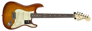 Fender American Performer Stratocaster in Honey Burst US19034466 | The Music Gallery | Front Far