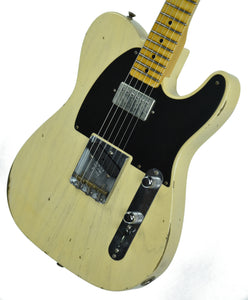 Fender® NAMM LTD Relic '52 HS Telecaster Aged Vintage Blonde | Front Right