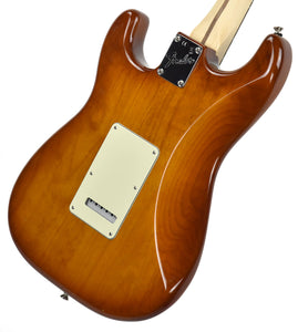 Fender American Performer Stratocaster in Honey Burst US19034466 | The Music Gallery | Back Angle 2