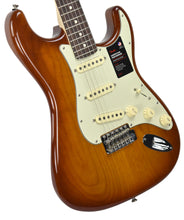 Fender American Performer Stratocaster in Honey Burst US19034466 | The Music Gallery | Front Angle 1