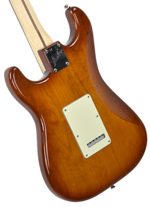 Fender American Performer Stratocaster in Honey Burst US19034466 | The Music Gallery | Back Angle 1